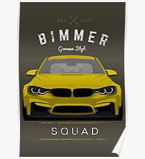 Bimmer Squad Poster