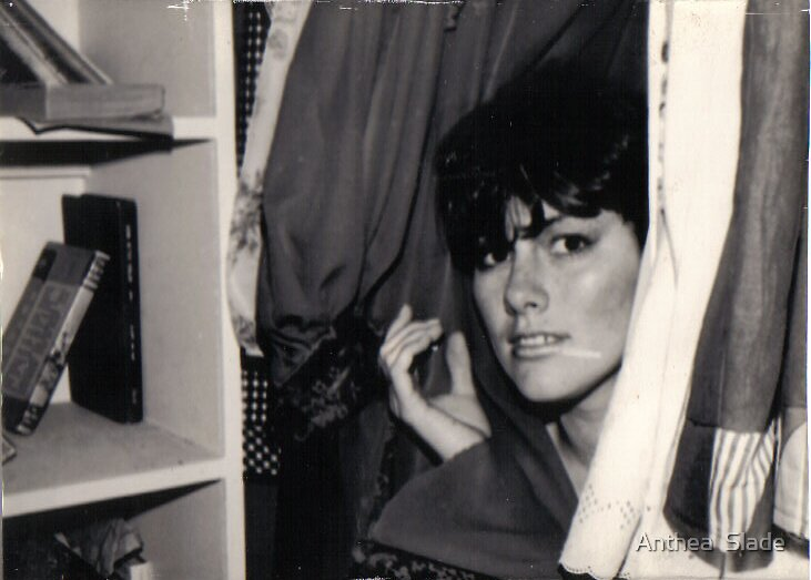 Me at 17 in the Wardrobe by Anthea  Slade