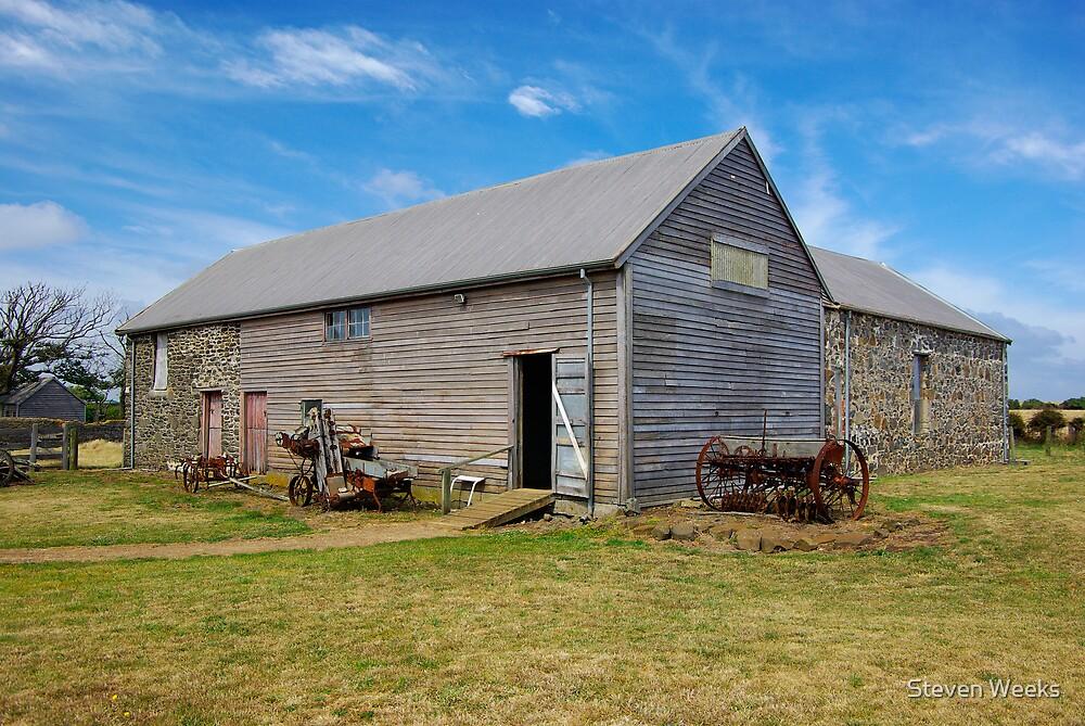 Barn, Highfield Estate by Steven Weeks