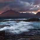 Elgol. Summer Storm. Loch Scavaig. Isle of Skye. Scotland. by PhotosEcosse