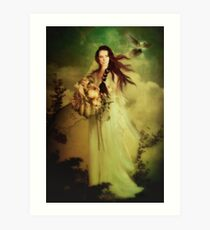 Demeter Goddess of the Harvest Art Print
