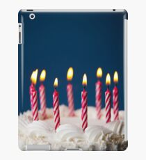 Cake: Birthday Cake With Candles For Any Birthday iPad Case/Skin