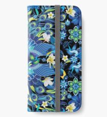 Blue Peacock Love iPhone Wallet/Case/Skin