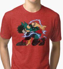 Camiseta de tejido mixto Conjunto listo para la careta completa My Hero Academia Deku Go
