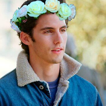 Milo Ventimiglia Flower Crown by ellentwd