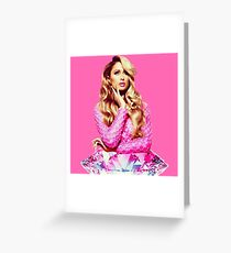 Diamond Girl Greeting Card
