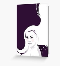 Bad Passion (White Version) Greeting Card