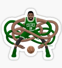 Gnarly Kyrie Celtics Sticker