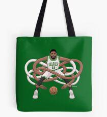 Gnarly Kyrie Celtics Tote Bag