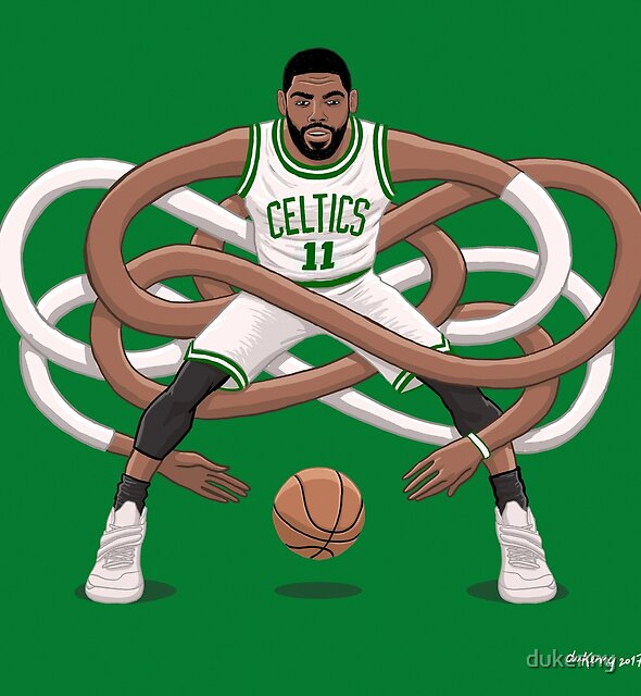 Gnarly Kyrie Celtics by dukenny