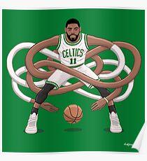 Gnarly Kyrie Celtics Poster
