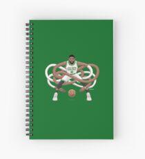Gnarly Kyrie Celtics Spiral Notebook