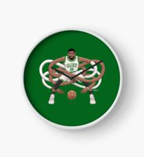 Gnarly Kyrie Celtics Clock