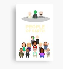 People of Earth Canvas Print
