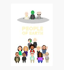 People of Earth Photographic Print