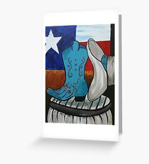 Texas Loves Cowgirls, Cowgirls Love Texas Greeting Card