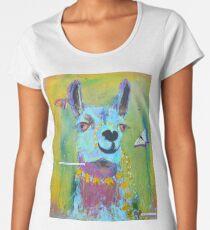 Lama für Hannah Frauen Premium T-Shirts