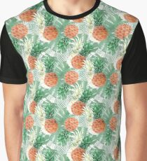 Pineapples. Graphic T-Shirt