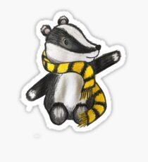 Badger Mascot Sticker