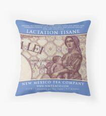 Lactation Tisane Throw Pillow