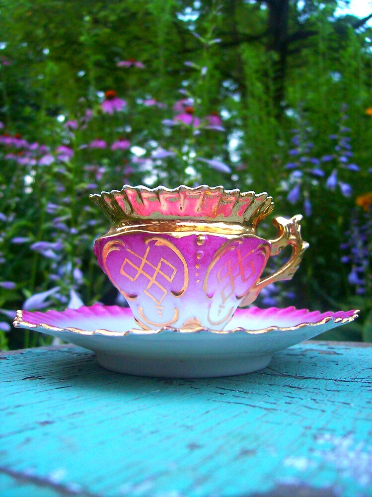 Demitasse China Tea Cup by MegJay