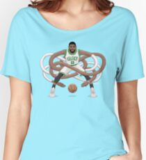 Gnarly Kyrie Celtics Women's Relaxed Fit T-Shirt