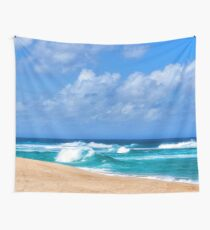 North Shore Turquoise - Impressions of Hawaii  Wall Tapestry