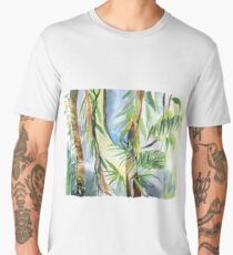 Watercolour Rainforest Men's Premium T-Shirt