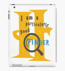 Particularly Good Finder iPad Case/Skin