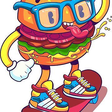 Burger-Boarding by Gamerama