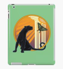 Vinilo o funda para iPad Art Déco Jaguar Plain