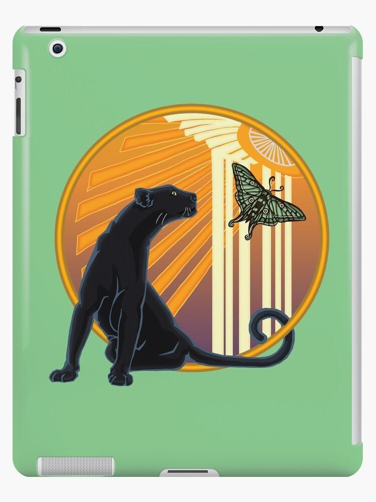Art Deco Jaguar Plain von AstraBlink7