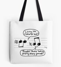 Musical Compliments Tote Bag