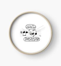 Musical Compliments Clock