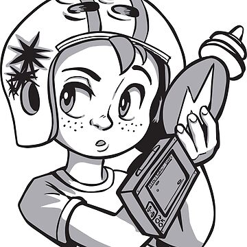 Commander Keen - black and white by tarale