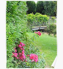 Springfields Garden (Spalding) Poster