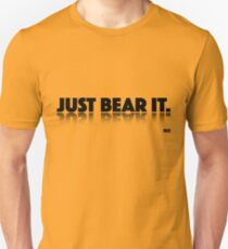 Just Bear It - Black T-Shirt