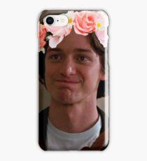 James McAvoy Flower Crown iPhone Case/Skin