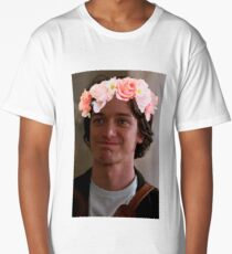 James McAvoy Flower Crown Long T-Shirt