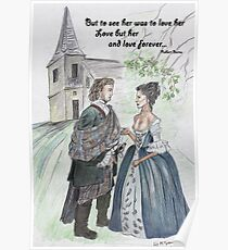 Outlander -The Wedding Poster