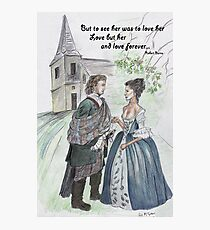 Outlander -The Wedding Photographic Print