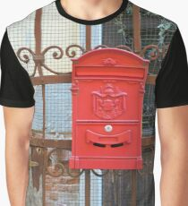 Swedish Post Box Graphic T-Shirt