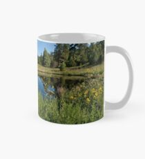 Mountains Reflected in a Pond Mug