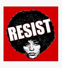 Angela Davis - Resist Photographic Print
