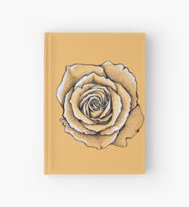 Beautiful rose flower Hardcover Journal