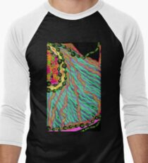 Fabrics of the Neon Tropical Fractal Jungle T-Shirt
