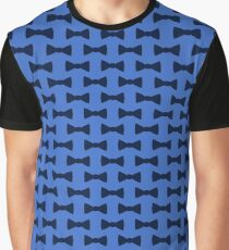 Blue bow ties Graphic T-Shirt