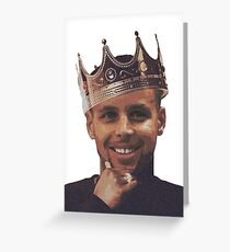 King Stephen Curry  Greeting Card