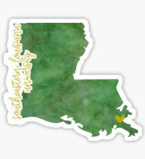 Southeastern Louisiana University Sticker