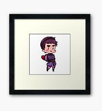 Cassandra Heart Framed Print